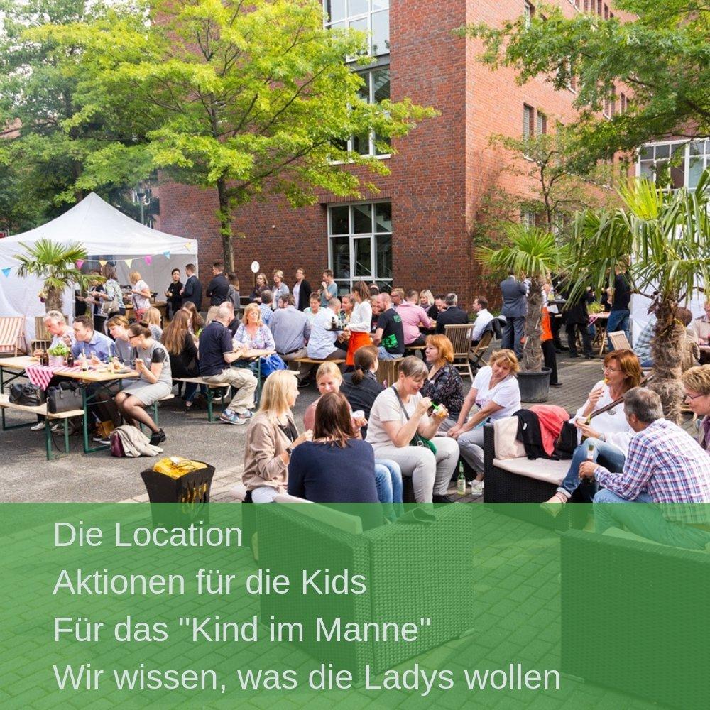 So könnte Ihr Sommerfest Event von We are Family Day aussehen