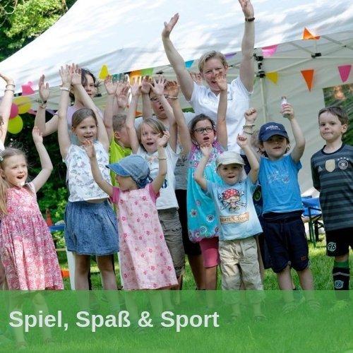 Ein Sommerfest mit Spiel, Spaß und Sport für klein und groß